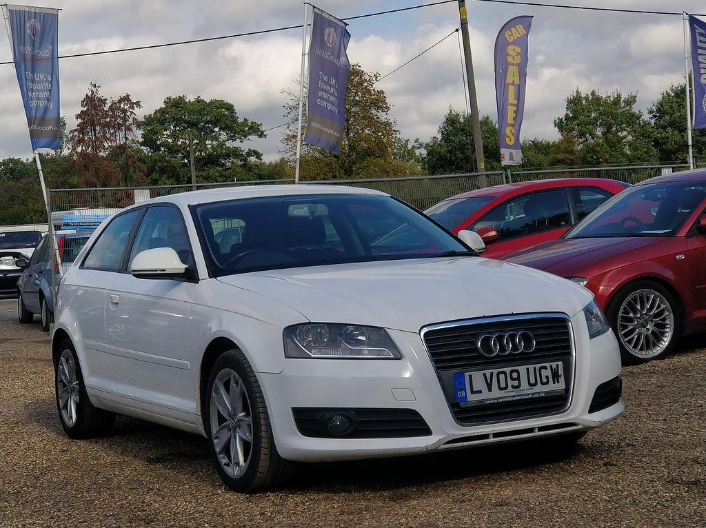 View our 2009 09 AUDI A3 1.9 TDI e Sport 3dr