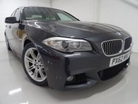 USED 2012 62 BMW 5 SERIES 2.0 520D M SPORT 4d 181 BHP