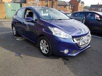 2012 PEUGEOT 208 1.4 ACTIVE E-HDI 5d AUTO 68 BHP £6995.00