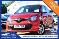 USED 2016 16 RENAULT TWINGO 1.0 THE COLOR RUN SPECIAL EDITION 5d 70 BHP