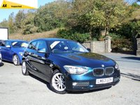 USED 2013 63 BMW 1 SERIES 2.0 116D SE 3d 114 BHP BEAUTIFUL CONDITION INSIDE AND OUT, LONG MOT UNTIL 10/2019, FULL SERVICE HISTORY, BLUETOOTH, AIR CONDITIONING, AUTO LIGHTS AND WIPER