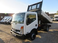 2012 NISSAN CABSTAR 2.5 35.14 SWB TIPPER 136 BHP 36,470 MILES ONLY £13995.00