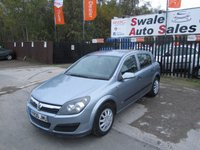 2006 VAUXHALL ASTRA 1.6 LIFE 16V TWINPORT 5d 100 BHP £1495.00
