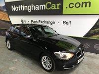 2014 BMW 1 SERIES 1.6 116D EFFICIENTDYNAMICS 5d 114 BHP £7795.00