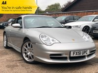 USED 2002 51 PORSCHE 911 3.6 CARRERA 2 COUPE Factory GT3 Kit, Sunroof.
