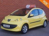 2007 PEUGEOT 107 1.0 URBAN 3d 68 BHP £SOLD