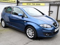 USED 2012 62 SEAT ALTEA 1.6 SE ECOMOTIVE CR TDI 5d 103 BHP * FREE DELIVERY & WARRANTY *