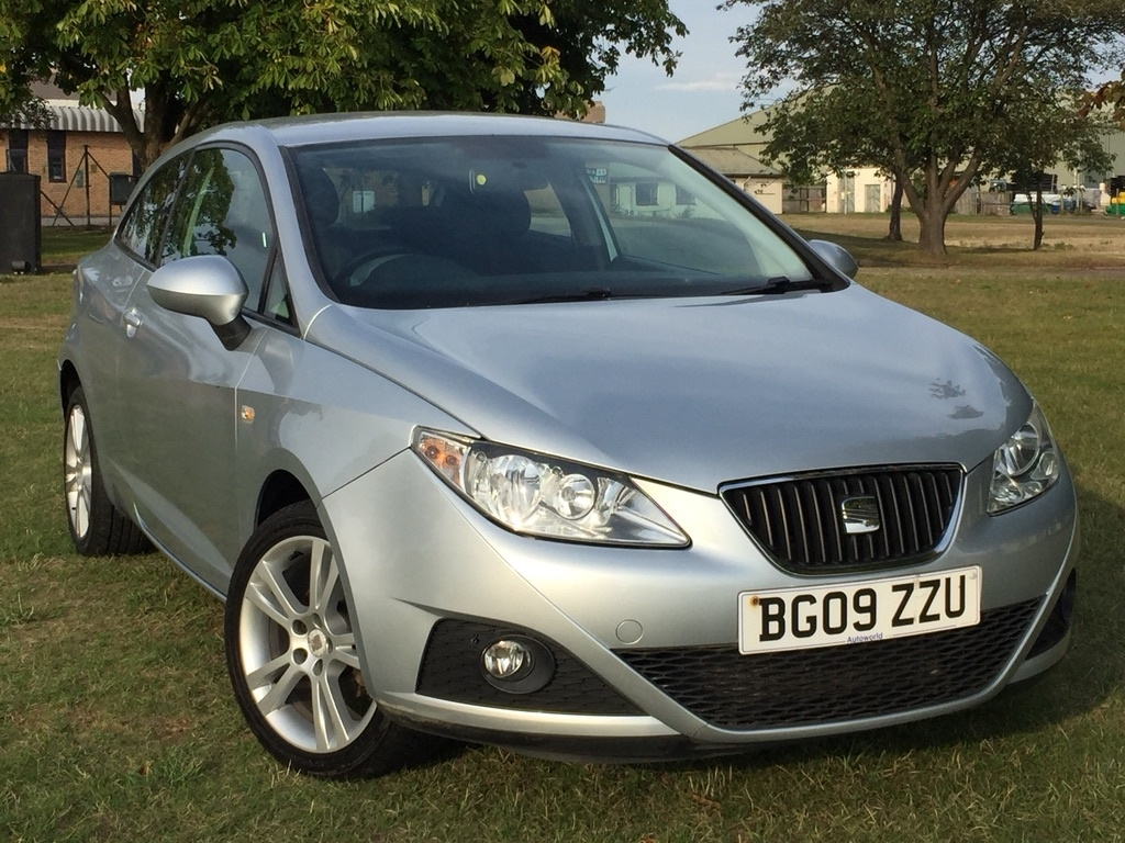 View our 2009 09 SEAT IBIZA 1.4 16v Sport SportCoupe 3dr