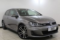 USED 2014 64 VOLKSWAGEN GOLF 2.0 GTD 3DR 182 BHP 1 Owner Full Service History SERVICE HISTORY + PARKING SENSOR + BLUETOOTH + CRUISE CONTROL + CLIMATE CONTROL + MULTI FUNCTION WHEEL + 18 INCH ALLOY WHEELS