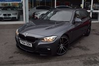 USED 2015 64 BMW 3 SERIES 3.0 330D M SPORT TOURING 5d AUTO 255 BHP FINANCE TODAY WITH NO DEPOSIT