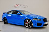 2013 JAGUAR XF 5.0 V8 R-S 4d AUTO 542 BHP FRENCH RACING BLUE XFR PLATE £35950.00
