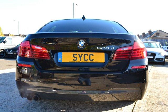 USED 2016 66 BMW 5 SERIES 2.0 520D M SPORT 4d AUTO 188 BHP ~ 19