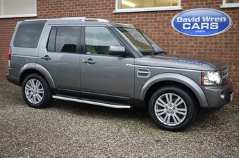 2010 LAND ROVER DISCOVERY 3.0 4 TDV6 HSE 5d AUTO 245 BHP £16990.00