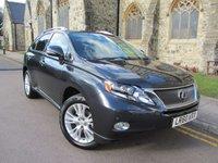 2010 LEXUS RX 3.5 450H SE-L 5d AUTO 249 BHP £15995.00