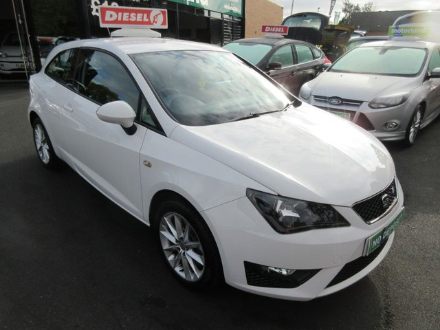 USED 2012 12 SEAT IBIZA 1.6 CR TDI FR 3d 104 BHP **FULL SERVICE HISTORY..JUST ARRIVED..BUY NOW PAY LATER FINANCE AVAILABLE..
