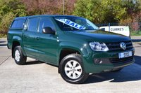 USED 2013 13 VOLKSWAGEN AMAROK 2.0 DC TDI STARTLINE 4MOTION 1d 178 BHP 1 OWNER FROM NEW ~ 5 SERVICE STAMPS ~ REAR CANOPY ~ 2 KEYS