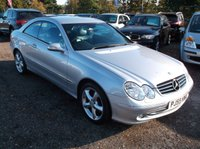 USED 2005 55 MERCEDES-BENZ CLK 3.2 CLK320 AVANTGARDE 2d AUTO 218 BHP ****Great Value luxury car with  service history, drives superbly****