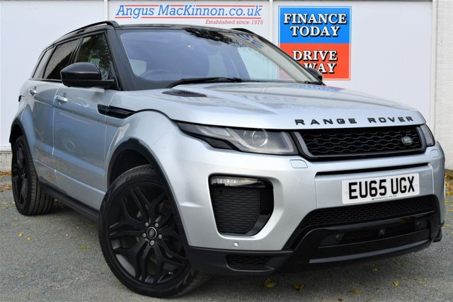 2015 65 LAND ROVER RANGE ROVER EVOQUE 2.0 TD4 HSE DYNAMIC LUX 4x4 AUTO Unbelievable High Spec 5dr Family SUV in a Stunning Colour Combination with Black Pack