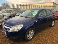 USED 2009 59 VAUXHALL ASTRA 1.6 ACTIVE 5d 115 BHP Mot Until 30th October 2019