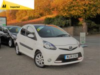 USED 2014 14 TOYOTA AYGO 1.0 VVT-I MODE 5d 68 BHP BEAUTIFUL LITTLE CAR INSIDE AND OUT, READY TO BE DRIVEN AWAY TODAY, LONG MOT AND FULL SERVICE HISTORY!