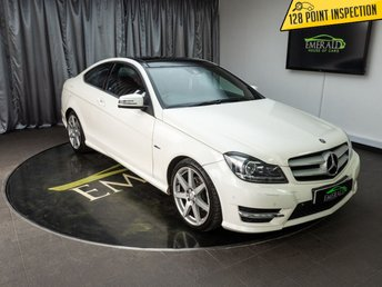 2011 MERCEDES-BENZ C CLASS 2.1 C250 CDI BLUEEFFICIENCY AMG SPORT ED125 2d AUTO 204 BHP £10500.00