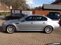 USED 2005 05 BMW M5 5.0 M5 4d AUTO 501 BHP Full Service History, DCT Auto