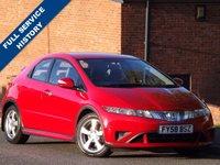 2008 HONDA CIVIC 1.8 SE I-VTEC 5d 139 BHP £2995.00