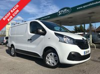 USED 2014 64 RENAULT TRAFIC 1.6 SL27 BUSINESS PLUS ENERGY DCI S/R P/V 1d 120 BHP Only 41,000 Miles, Air Conditioning, Roof Rack, One Owner, Finance Arranged.