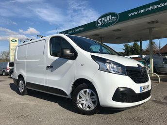 2014 RENAULT TRAFIC 1.6 SL27 BUSINESS PLUS ENERGY DCI S/R P/V 1d 120 BHP £8995.00