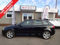 USED 2010 10 AUDI A3 1.4 TFSI SPORT 5DR SPORTBACK 125 BHP ++++BUY NOW PAY NEXT JANUARY 2019++