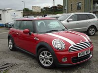 2011 MINI HATCH ONE 1.6 ONE D 3d 90 BHP £5395.00