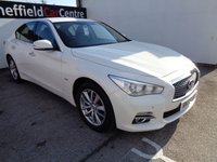 USED 2015 65 INFINITI Q50 2.1 SE D 4d 168 BHP 4 MAIN DEALER STAMPS HALF LEATHER BLUETOOTH CD AUDIO  ALLOYS AIR CON
