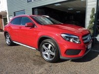 2015 MERCEDES-BENZ GLA-CLASS 2.1 GLA200 CDI AMG LINE 5d AUTO 136 BHP £16995.00