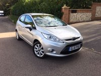 2010 FORD FIESTA 1.4 ZETEC 16V 5d 96 BHP PLEASE CALL TO VIEW £4450.00