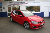 2013 VOLKSWAGEN GOLF 2.0 GT TDI BLUEMOTION TECHNOLOGY 5d 148 BHP £10195.00