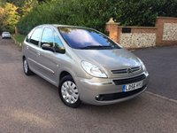 2006 CITROEN XSARA PICASSO 2.0 PICASSO VTX 16V 5d AUTO 135 BHP PLEASE CALL TO VIEW