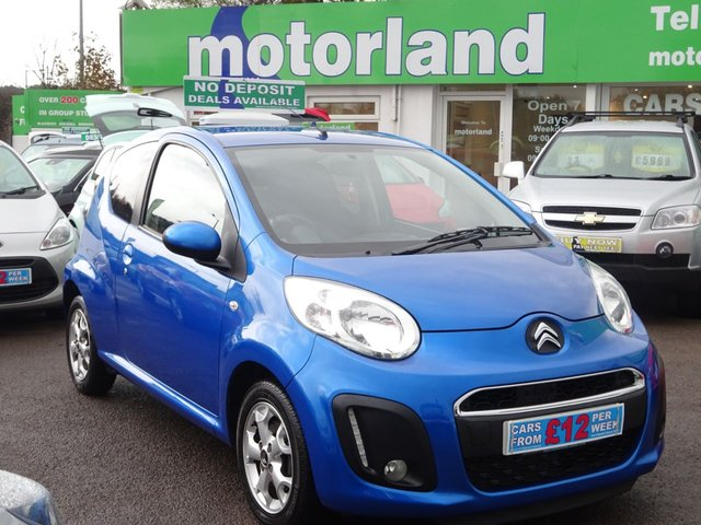 USED 2013 63 CITROEN C1 1.0 VTR PLUS 3d 67 BHP £0 DEPOSIT FINANCE AVAILABLE....£0 ROAD TAX....FULL SERVICE HISTORY...CALL TODAY 01543 877320