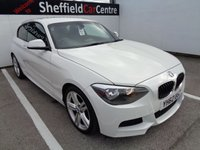USED 2012 62 BMW 1 SERIES 2.0 118D M SPORT 3d 141 BHP 18 INC ALLOYS CLIMATE CONTROL AIR CON PARKING SENSORS PRIVACY GLASS