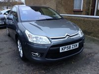 2008 CITROEN C4 1.6 VTR PLUS HDI 3d DIESEL MANUAL GREY  £2790.00