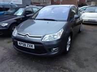 USED 2008 58 CITROEN C4 1.6 VTR PLUS HDI 3d DIESEL MANUAL GREY  Citroen + one owner from new with full service history