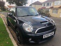 2007 MINI HATCH COOPER 1.6 COOPER S 3d 172 BHP £4495.00