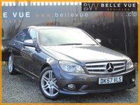 USED 2007 57 MERCEDES-BENZ C CLASS 2.1 C220 CDI SPORT 4d AUTO 168 BHP *STUNNING CAR, GREAT SPEC!*