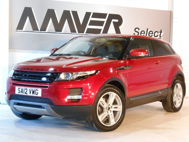 2012 12 LAND ROVER RANGE ROVER EVOQUE 2.2 TD4 PURE TECH 3d 150 BHP