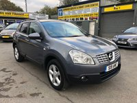 2009 NISSAN QASHQAI 2.0 N-TEC 5d AUTOMATIC 140 BHP IN METALLIC GREY WITH 80000 MILES £6299.00