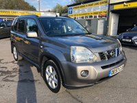 2007 NISSAN X-TRAIL 2.0 AVENTURA EXPLORER DCI 5d 148 BHP AUTOMATIC IN METALLIC GREY WITH ONLY 72000 MILES. £5999.00