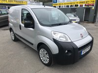 2013 FIAT FIORINO 1.2 16V MULTIJET SX 2 DOOR 75 BHP IN SILVER WITH 107000 MILES WITH SAT NAV. £3499.00