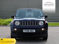 USED 2016 16 JEEP RENEGADE 1.6 M-JET SPORT 5d 118 BHP 1 OWNER,FSH,A/C,BLUETOOTH,DAB