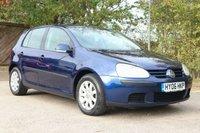 2006 VOLKSWAGEN GOLF 1.6 SE 5d AUTO 114 BHP £2450.00