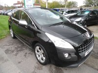 2010 PEUGEOT 3008 1.6 EXCLUSIVE HDI 5d 110 BHP ONE OWNER FROM NEW £4995.00