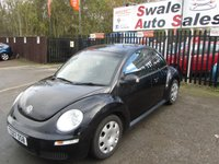 USED 2007 07 VOLKSWAGEN BEETLE 1.9 TDI 3d 103 BHP FINANCE AVAILABLE FROM £32 A WEEK OVER TWO YEARS - SEE FINANCE LINK